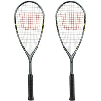 Wilson Force 145 BLX Squash Racket Double Pack