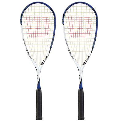 Wilson Force 145 BLX Squash Racket Double Pack