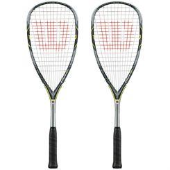 Wilson Force 155 BLX Squash Racket Double Pack
