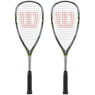 Wilson Force 155 BLX Squash Racket Double Pack - main image