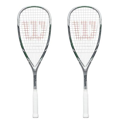Wilson Force 155 BLX Squash Racket Double Pack
