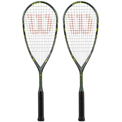Wilson Force 165 BLX Squash Racket Double Pack - Main Image