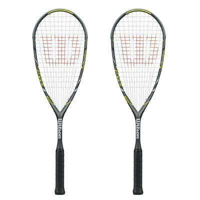 Wilson Force 165 BLX Squash Racket Double Pack