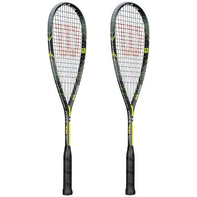 Wilson Force Team Squash Racket Double Pack - Site