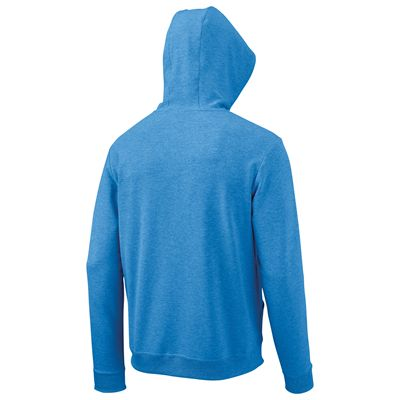 Wilson Full Zip Mens Hoodie-Blue-Back