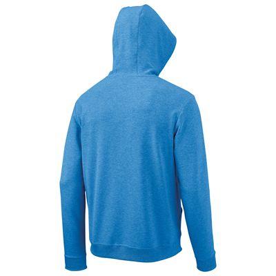 Wilson Full Zip Mens Hoodie-Blue-Back