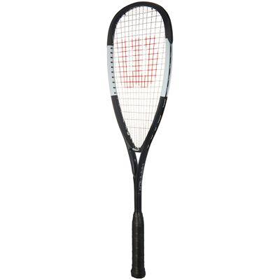 Wilson Hammer L Squash Racket - Black