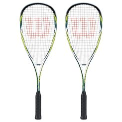 Wilson Hammer Lite BLX Squash Racket Double Pack