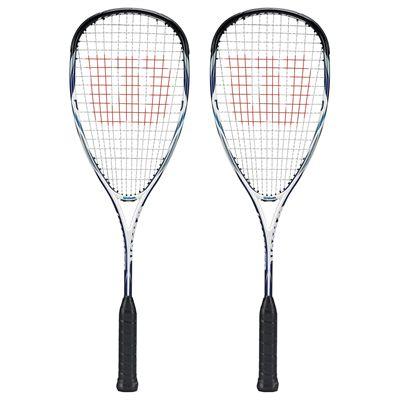 Wilson Hammer Tech Pro BLX Squash Racket Double Pack