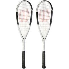 Wilson Hammer Ultra Light 110 PH Squash Racket Double Pack