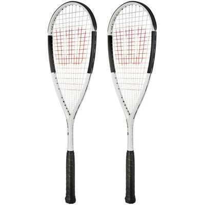 Wilson Hammer UL Squash Racket Double Pack
