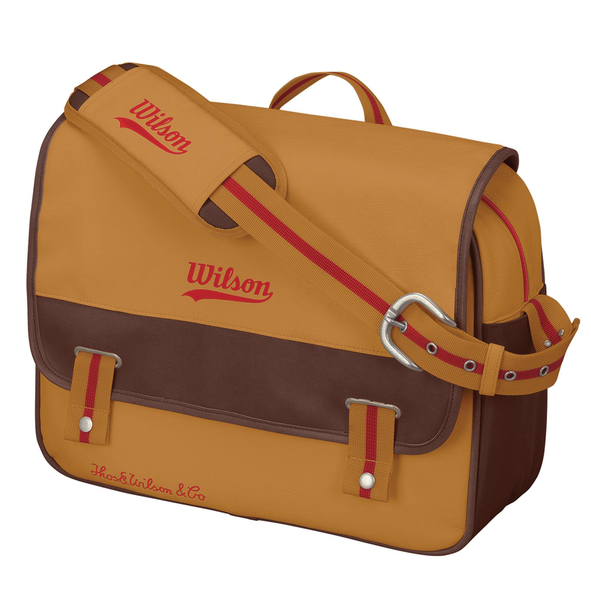 Wilson Heritage Messenger Bag Sweatband Com