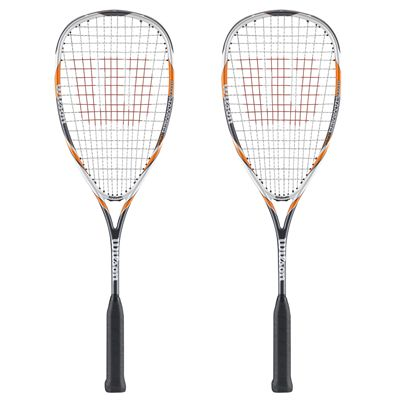 Wilson Hyper Hammer 145 Squash Racket Double Pack