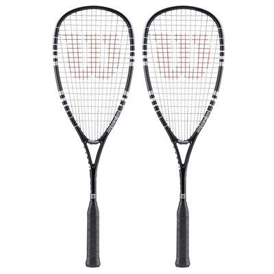 Wilson Hyper Hammer Squash Racket Doubles Pack