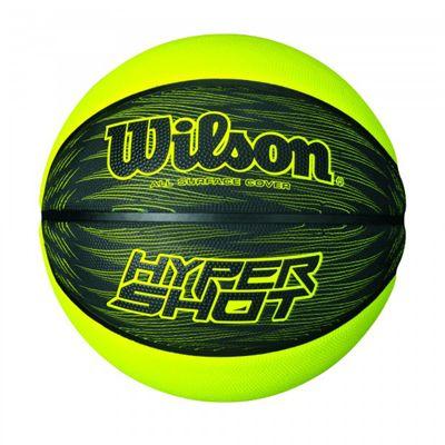 Wilson Hyper Shot Basketball - Black-Lime