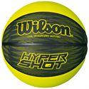 Wilson Hyper Shot RBR Basketball-Black-Yellow-Size 6