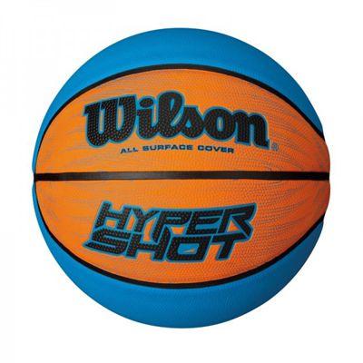 Wilson Hyper Shot RBR Basketball-Blue-Orange-Size 7