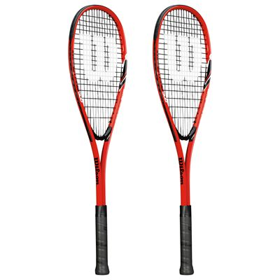 Wilson Impact Pro 300 Squash Racket Double Pack SS15 - Side View