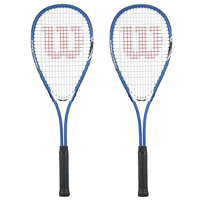 Wilson Impact Pro 300 Squash Racket Double Pack