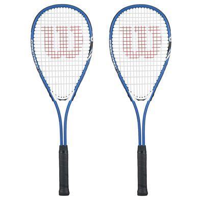 Wilson Impact Pro 300 Squash Racket Double Pack