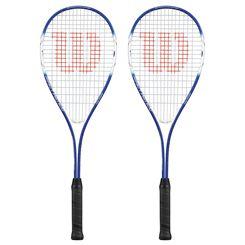Wilson Impact Pro 500 Squash Racket Double Pack