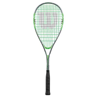 Wilson Impact Pro 900 Squash Racket-1/2 Cover-Grey/Green