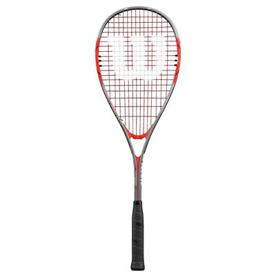 Wilson Impact Pro 900 Squash Racket-1/2 Cover-Red/Grey