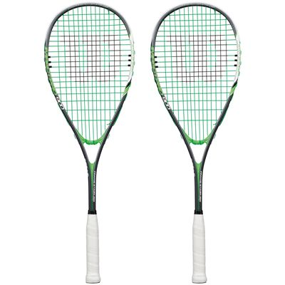 Wilson Impact Pro 900 Squash Racket Double Pack SS16-Front
