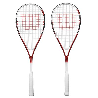 Wilson Impact Pro 900 Squash Racket Double Pack