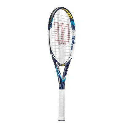Wilson Juice 100 Tennis Racket - Side View