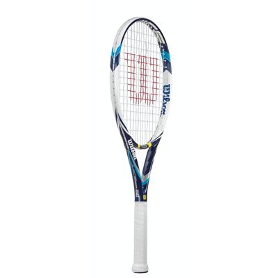 Wilson Juice 100S Tennis Racket - Side View