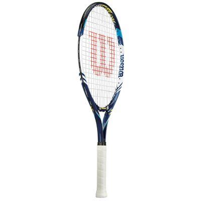 Wilson Juice Blue 25 Junior Tennis Racket - Side