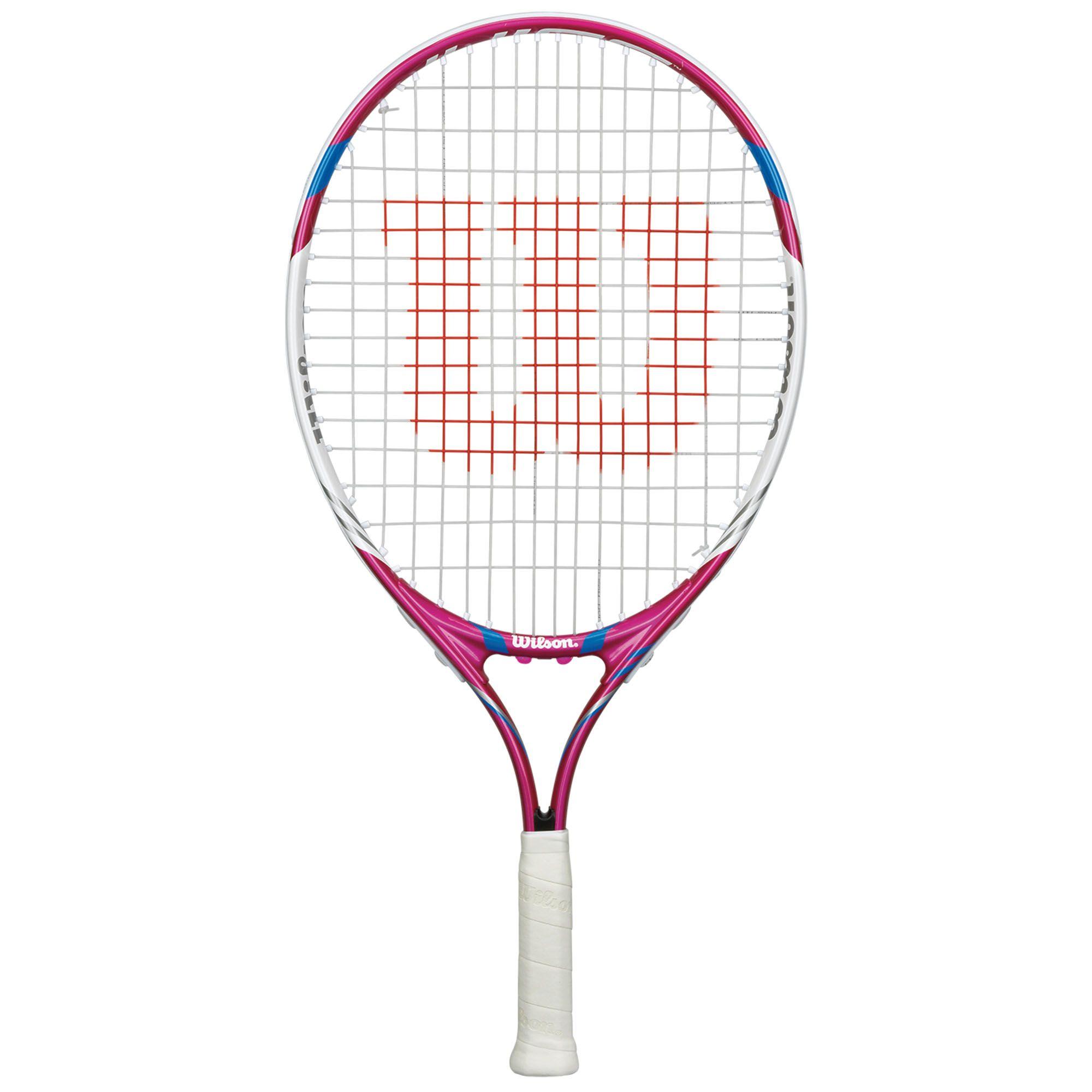 Wilson Juice Pink 21 Junior Tennis Racket - Sweatband.com