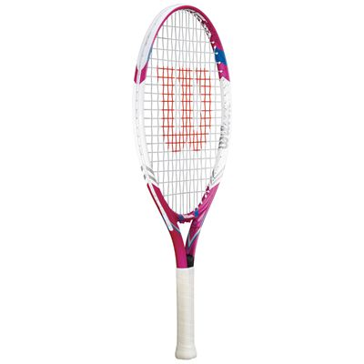 Wilson Juice Pink 23 Junior Tennis Racket - Side