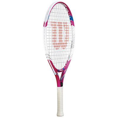 Wilson Juice Pink 23 Junior Tennis Racket - Side