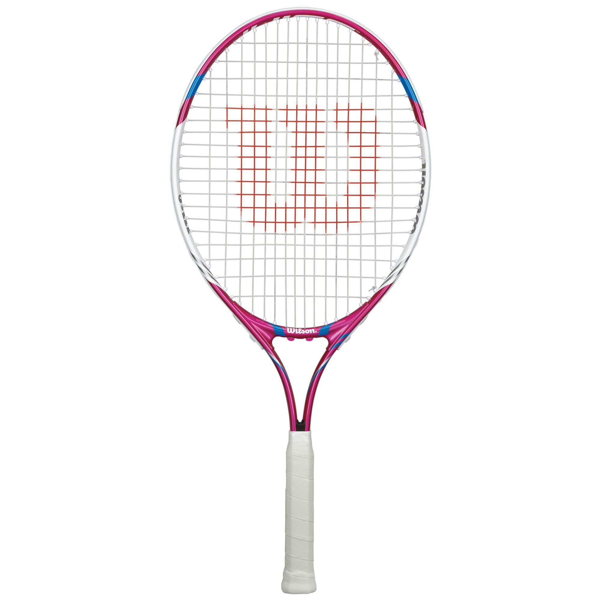 Wilson Juice Pink 25 Junior Tennis Racket - Sweatband.com