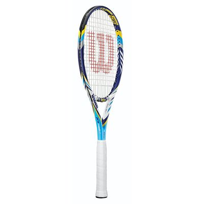 Wilson Juice Pro 96 BLX Tennis Racket - side view