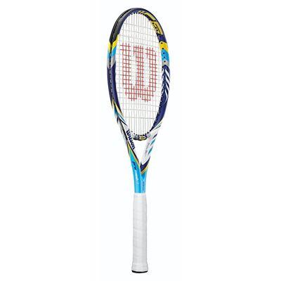 Wilson Juice Pro 96 BLX Tennis Racket - side view