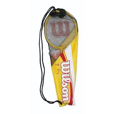 Wilson Junior 2 Player Badminton Set Packed