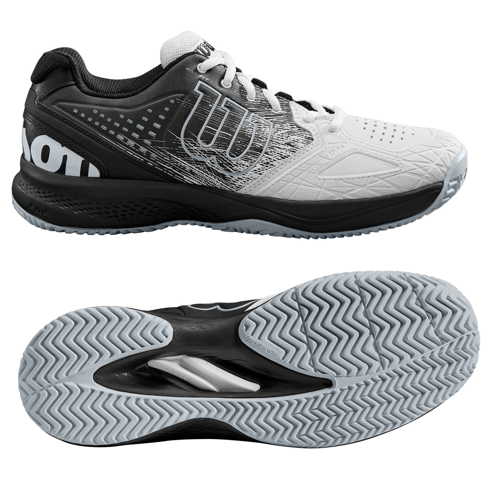 Wilson Kaos Comp 2.0 Mens Tennis Shoes