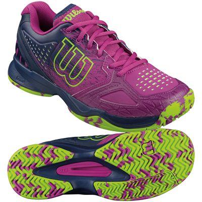 Wilson Kaos Comp Ladies Tennis Shoes