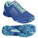 Wilson Kaos Ladies Tennis Shoes - Blue/Green