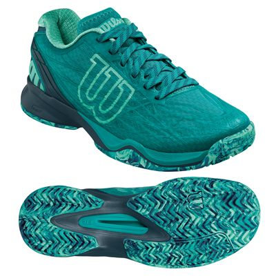 Wilson Kaos Ladies Tennis Shoes - Green