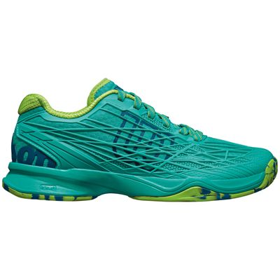 Wilson Kaos Ladies Tennis Shoes-Green-Side Right