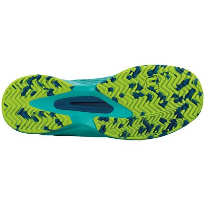 Wilson Kaos Ladies Tennis Shoes-Green-Sole