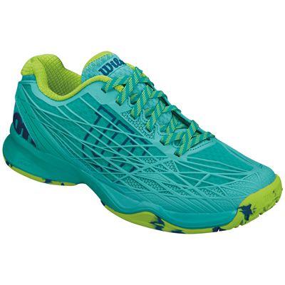Wilson Kaos Ladies Tennis Shoes-Green-Standalone