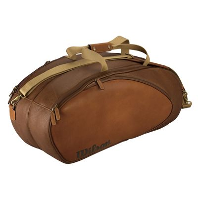 Wilson Leather 6 Pack Racket Bag