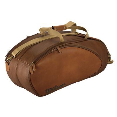 Wilson Leather 6 Pack Racket Bag
