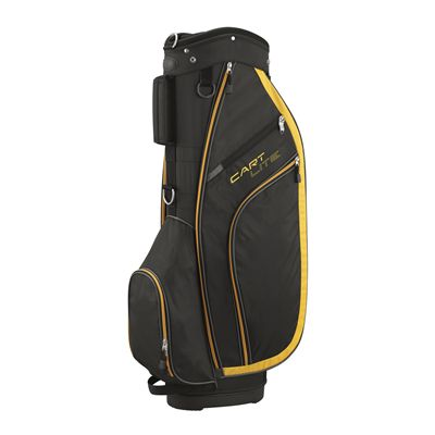 Wilson Lite Golf Cart Bag - Black/Gold