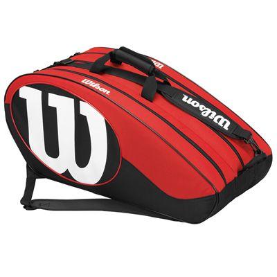 Wilson Match II 12 Racket Bag - Side